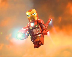 Iron Man Mark L (-Metarix-) Tags: lego minifig super hero marvel avengers iron man infinity war tony stark custom titan mark l 50