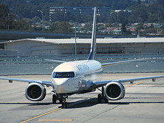 AC 737-8 MAX C-FSDQ (kenjet) Tags: max8 8max 737max8 ac aircanada sf sfo ksfo sanfranciscointernationalairport arriving arrival airport ramp jet plane flugzeug airline airliner max 737max boeing engine engines 7378max