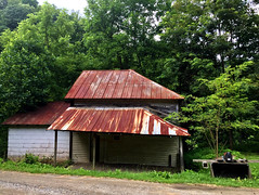 Old Store in Smokies (77ahavah77) Tags: old store building architecture trees landscape outside forest north carolina