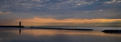 Bari sunrise (Leaning Ladder) Tags: bari italy italia puglia apulia sunrise sky water reflections hdr canon 7d mkii 7dmkii leaningladder