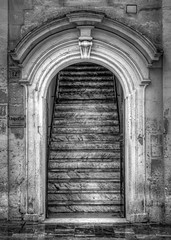 The doors of Matera (Leaning Ladder) Tags: matera italy italia basilicata sassi doors blackandwhite bw canon 7d mkii 7dmkii leaningladder