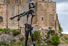 Homage to Newton (Leaning Ladder) Tags: matera italy italia basilicata sassi dali sculpture canon 7d mkii leaningladder 7dmkii
