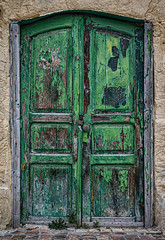 The doors of Matera (Leaning Ladder) Tags: matera italy italia basilicata sassi doors crusty green canon 7d mkii 7dmkii leaningladder