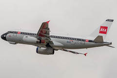 BA Retro - BEA (Ychocky) Tags: 150500mmf563 airbusa319131 britishairways egll geupj lhr londonheathrow retro sigma