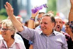 Jour de défilé LGBTQ2 à Montréal (photolenvol) Tags: parade françoislegeault defile boulrenélevesque montreal drapeau arcenciel