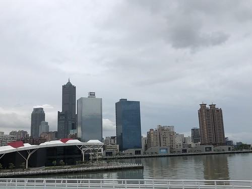 Kaohsiung skyline from True Love Pier