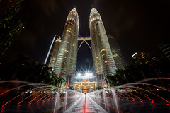 Another side of Twin Tower (Reynaldy Muhammad) Tags: twin tower kl petronas long exposure nikon nikkor vacation