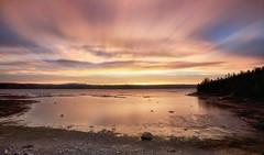 Lever du jour le long de la rivière Saguenay (11-06-2019)  Longue exposition (gaudreaultnormand) Tags: calme canada juin leverdesoleil longueexposition lumière quebec rivière saguenay sunrise