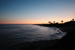 dusk by the sea (peaceblaster9) Tags: sunset dusk ocean sea beach coast shore santacruz california 夕日 日没 silhouette シルエット 海岸 海 浜辺 ビーチ サンタクルーズ カリフォルニア ricohgr gr3