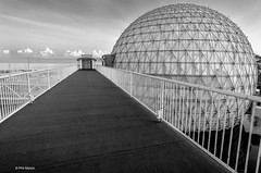 Cinesphere in black and white - Ontario Place, Toronto (Phil Marion (173 million views - THANKS)) Tags: sunrise sunset dusk fun shadows hdr snow art model feet canon5diii 5d3 canon toronto canada candid architecture street portrait landscape wildlife nature explored bird urban flowers macro insect sony nikon fuji longexposure ontario phil marion philmarion philippemarion upskirt explore teen boy girl skyline cityscape home maitreya sky water outside beach dog old young indoors travel night