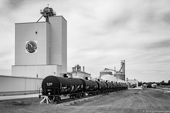 Ethanol Plant in Lena, Illinois (Jim Frazier) Tags: bw 2019 3d3layer blackandwhite industry buildings landscape countryside illinois industrial factory cloudy country farming elevator august il equipment business machinery lena alcohol farms desaturated machines agriculture facility agricultural devices manufacturer diagonals manufacturing leadinglines lawm deepdepthoffield jimfraziercom loadcode201908 summer plant monochrome metal triangles rural vanishingpoint scenery steel scenic structures overcast trains roadtrip transportation points processing production railways railroads ruleofthirds sidings tankcars q4 sizeover1000 tilx195882 cooltrainpix