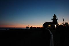 dusk by the sea (peaceblaster9) Tags: sunset dusk ocean sea beach coast shore lighthouse santacruz california 夕日 日没 silhouette シルエット 海岸 海 浜辺 ビーチ サンタクルーズ カリフォルニア 灯台 ricohgr gr3