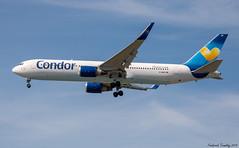 Condor / Boeing 767-343(ER) / D-ABUK / YVR (tremblayfrederick98) Tags: condor boeing b767 boeing767 yvr vancouver avgeek avporn heavy aviation airplane landing