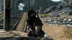 Anoriath - TESV_2019_08_19_19_45_43_914 (Borgakh gra Khazgur) Tags: skyrim whiterun anoriath market bosmer merchant hunter immersivearmors woodelf
