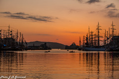Sunset , The Tall Ships Races 2019 (2000stargazer) Tags: thetallshipsraces2019 thetallshipsracesbergen2019 tallships silhouettes sunset bergen vågen bryggen reflections waterscape cloudscape canon gettyimages