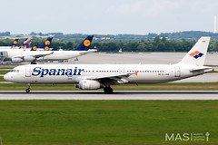 Spanair A321-200 EC-INB @ MUC (MASAviation) Tags: aviation avgeek avion aviator aviationpic aviationphotography avporn aviationdaily spotter spotting munich münchen muc munichairport mucairport mucmoments spanair a321 airbus