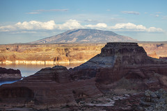 Navajo Mountain (CraDorPhoto) Tags: canon5dsr nature landscape outdoors outside sky blue clouds mountains valley lakepowell usa utah