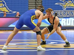 CSUB v Stanford (Leo Tard1) Tags: canon 5dmarkiv usa ca california wrestling collegewrestling wrestle wrestler male singlet indoor sport athletic athlete sportsfight leotard 2019 calstateuniversitybakersfield bakersfield icardocenter roadrunners stanforduniversity stanford thecardinals 184lb dominicducharme colbeyharlan