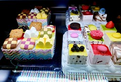 Ice Cream Cakes (stardex2.0) Tags: cake baskinrobins dessert sweet pastry yummy food macaroon busan