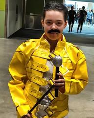 freddie mercury (Luckykatt) Tags: freddiemercury queen svcc siliconvalleycomiccon sanjose costume cosplay
