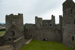 Photo of Kidwelly Castle, Wales.