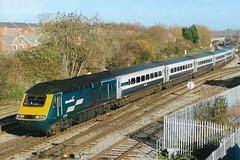 43178 43166 (stevenjeremy25) Tags: intercity 125 railway train speed high 43 253 43166 midland mainline westbury 43178 hst