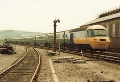 43139 43140 1 190683 (stevenjeremy25) Tags: intercity 125 railway train speed high 43 253 hst 43139 43140 aberystwyth cambrian excursion 253035