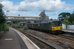 Paignton Pacers (philwakely) Tags: class143 pacer torquay gwr greatwesternrailway greatwestern firstgreatwestern fgw first diesel dieselmultipleunit dmu locomotive trains train railway railways rail