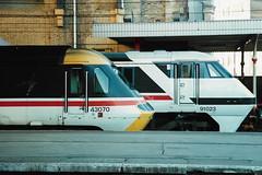 43070 91023 130191 (stevenjeremy25) Tags: intercity 125 railway train speed high 43 hst 43070 91023 electric loco engine 254