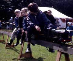 ASLEF on Strike (theirhistory) Tags: boy child children kid fair event train engine coat wellies wellingtonboots