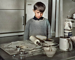 How to poison a pie (theirhistory) Tags: boy child children kid jumper pastry pie