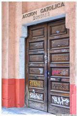 - - (Matías Brëa) Tags: calle street streetphotography puerta door documentalismo documentary color