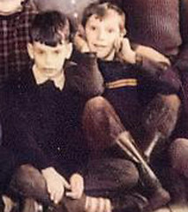 How to muck up a photo (theirhistory) Tags: boy child children kid jumper trousers shoes wellies wellingtonboots