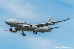 [CDG] Armée de l'Air (French Air Force) Airbus A330-243MRTT Phenix _ F-UJCH (thibou1) Tags: thierrybourgain lfpg cdg spotting aircraft airplane nikon d810 tamron sigma arméedelair faf frenchairforce airbusmilitary airbusa330 airbus a330243mrtt fujch landing phénix mrttphénix