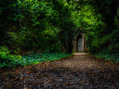 Door of perception (Gullivers adventures) Tags: castle haunted trekking country colors green ireland stay trip holidays flickr explore shades shadows photography airbnb
