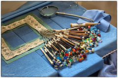 Lacemaking. (Missy2004) Tags: nikkorafs18140mmf3556gedvr 119picturesin2019 lacemaking toolsofatrade 106119