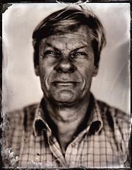 David (fitzhughfella) Tags: tintype tinplate silvernitrate ether darkroom collodion kodakaeroektar graflexspeedgraphic largeformat 4x5