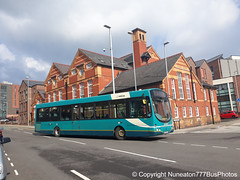 CX58EUE 2664 Arriva Buses Wales in Chester (Nuneaton777 Bus Photos) Tags: arriva buses wales wright pulsar cx58eue 2664 chester
