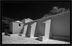 Lanzarote, infrared (Dierk Topp) Tags: a7r bw ilce7r ir sony1635mmvariotessartfef4zaoss sonya7rir architecture canaryislands infrared islascanarias lanzarote monochrom sw sony