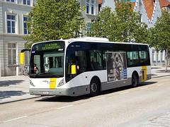 BEL Lijn 4964 ● Brugge (Roderik-D) Tags: vanhool 4964 newa309 brugge busstationtzand 0568p stadsbus stadtbus citybus delijn49644979