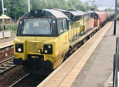 Colas Rail Class 70 (70812) - Holytown (saulokanerailwayphotography) Tags: 70812 class70 colasrailfreight