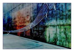exhibition (christikren) Tags: austria abstract ausstellung architecture christikren exhibition kunstmuseum art museum panasonic linz entrance innamoramento oberösterreich