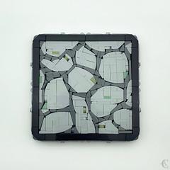 Stone Floor - Strange Technique 3 (Corvus Auriac MOCs) Tags: lego moc afol design floor bricks stone techniques