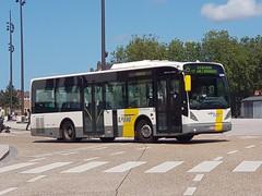 BEL Lijn 4698 ● Brugge (Roderik-D) Tags: newa309 vanhool 4698 brugge busstationtzand swj284 stadtbus stadsbus citybus delijn46644707