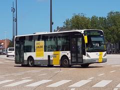 BEL Lijn 4277 ● Brugge (Roderik-D) Tags: newa308 vanhool 4277 brugge busstationtzand stadsbus stadtbus citybus delijn42444277