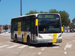BEL Lijn 4270 ● Brugge (Roderik-D) Tags: vanhool 4270 newa308 brugge busstationtzand byq459 stadsbus stadtbus citybus delijn42444277