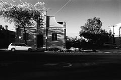 Line (OzGFK) Tags: 35mm fitzroynorth kodaktrix nikkor nikonf3 trix analog blackandwhite film monochrome contrast shadowandlight redfilter brightday