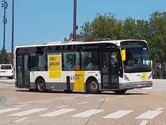 BEL Lijn 4258 ● Brugge (Roderik-D) Tags: newa308 4258 brugge vanhool busstationtzand hwl623 stadsbus stadtbus citybus delijn42444277