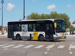 BEL Lijn 4260 ● Brugge (Roderik-D) Tags: vanhool 4260 brugge busstationtzand hwl618 stadtbus stadsbus citybus delijn42444277 2003