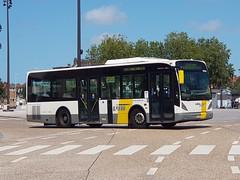 BEL Lijn 4966 ● Brugge (Roderik-D) Tags: vanhool brugge 4966 newa309 midibus busstationtzand 0157p stadsbus stadtbus citybus 2doors 2axle 2006 delijn49644979